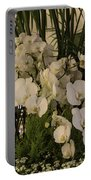 Exuberant Orchid Display Portable Battery Charger