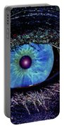 Eye In The Sky Portable Battery Charger by Joann Vitali