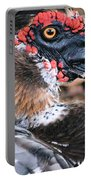 Eye Of The Muscovy Duck Portable Battery Charger