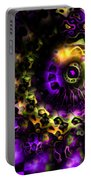 Eye Of The Swirling Dream Portable Battery Charger
