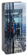 Eyes Down From The 103rd Floor Neighbors Portable Battery Charger