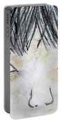 Eyes Of Love Portable Battery Charger by Eloise Schneider