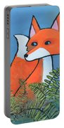 F Is For Fox Portable Battery Charger