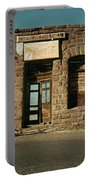 Facade American Pool Hall Coca-cola Sign Ghost Town Jerome Arizona Portable Battery Charger