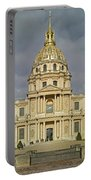 Facade Of The St-louis-des-invalides Portable Battery Charger