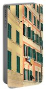 facades in Camogli Portable Battery Charger