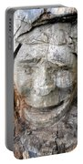 Face In A Tree Portable Battery Charger