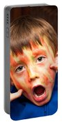 Face Paint Portable Battery Charger by Tom Gowanlock