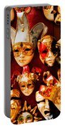 Faces Of Carnavale Portable Battery Charger