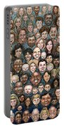 Faces Of Humanity Portable Battery Charger