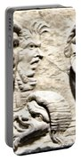 Faces Of Pompeii Portable Battery Charger
