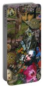 Faces Of The Goddess Portable Battery Charger