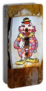 Faded Clown Portable Battery Charger