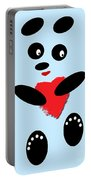 Fading Like A Flower. Panda In Love. 02 Portable Battery Charger
