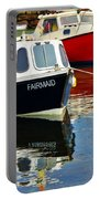 Fairmaid At Mousehole Harbour Portable Battery Charger