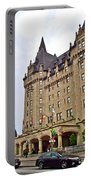 Fairmount Chateau Laurier East Of Parliament Hill In Ottawa-on Portable Battery Charger