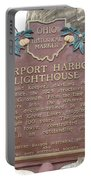Fairport Harbor Lighthouse Portable Battery Charger