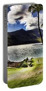 Fairway In Paradise Portable Battery Charger