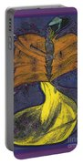Fairy Godmother By Jrr Portable Battery Charger