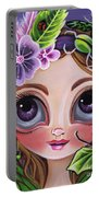 Fairy Of The Insects Portable Battery Charger