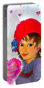 Fairy Valentine Portable Battery Charger