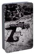 Faith Among The Ruins Portable Battery Charger