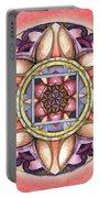 Faith Mandala Portable Battery Charger