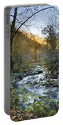 Fall Along Citico Creek Portable Battery Charger