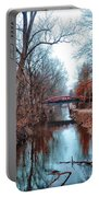 Fall Along The Delaware Canal Portable Battery Charger