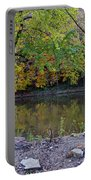 Fall Along The Scioto River Portable Battery Charger
