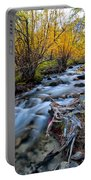 Fall At Big Pine Creek Portable Battery Charger