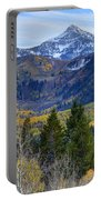 Fall At Cascade Peak And Sundance From Alpine Loop  Portable Battery Charger