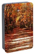 Fall At Cheesequake Portable Battery Charger