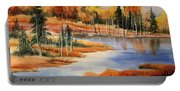 Fall At Elk Island  Portable Battery Charger