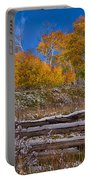 Fall At Last Dollar Road Portable Battery Charger