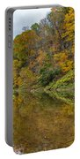 Fall At Little Beaver Creek Portable Battery Charger