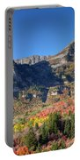 Fall At Mt. Timpanogos From Sundance - Utah  Portable Battery Charger