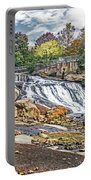 Fall At Reedy River Portable Battery Charger