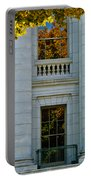 Fall At The Capitol Portable Battery Charger