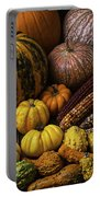 Fall Autumn Abundance Portable Battery Charger