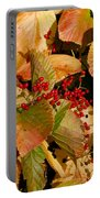 Fall Berries Portable Battery Charger