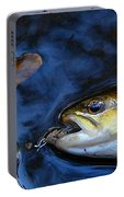 Fall Brown Trout Portable Battery Charger