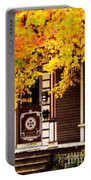 Fall Canopy Over Victorian Porch Portable Battery Charger