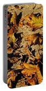 Fall Cleanup Portable Battery Charger