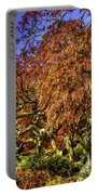 Fall Color At Biltmore Portable Battery Charger