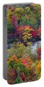 Fall Colors Along Tanasee Road Portable Battery Charger