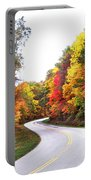 Fall Colors Along The Blueridge Parkway Portable Battery Charger