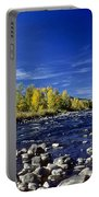Fall Colors Along The Naches River Portable Battery Charger