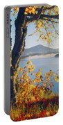 Fall Colors Frame Whiteface Mountain Portable Battery Charger
