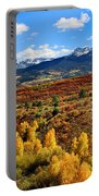 Fall Colors In Ridgway Colorado Portable Battery Charger